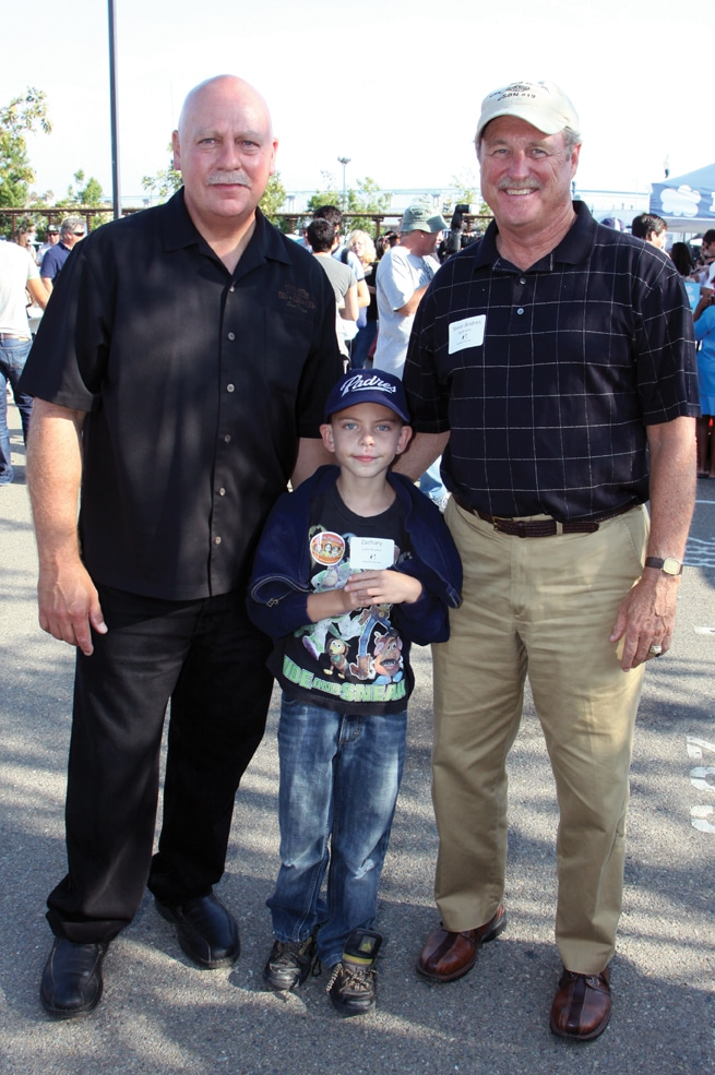 Phil Pace with Steve Anders and Zachary.JPG
