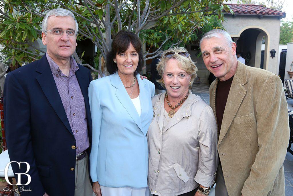 Philip and Karen Dardaine with Sherry and Richard Van Meeter