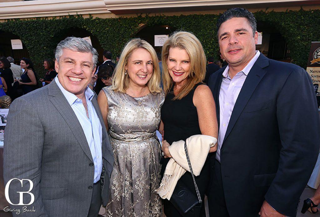 Philip and Nora Balikian with Silvana and Sebastian Saldivar