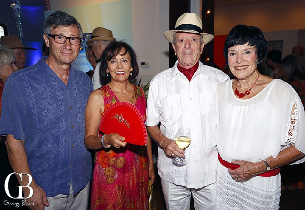 Philippe and Maria Prokocimer with Bob and Jinny Black