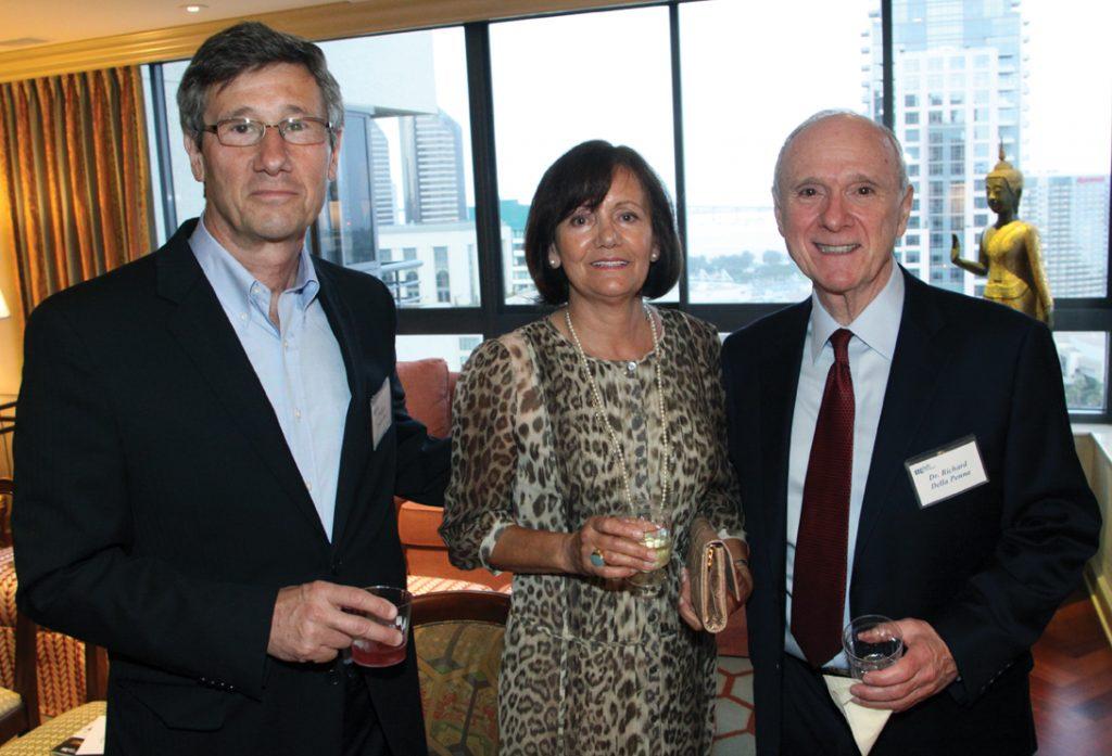 Phillipe and Maria Prokocimer with Richard Della Penna.JPG
