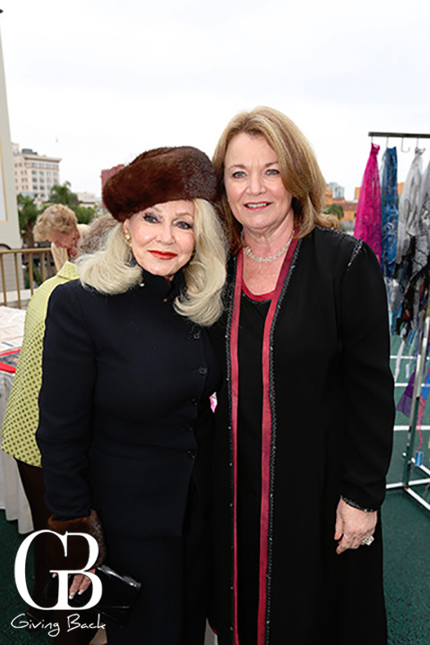 Phyllis Parrish and  Debbie Turner