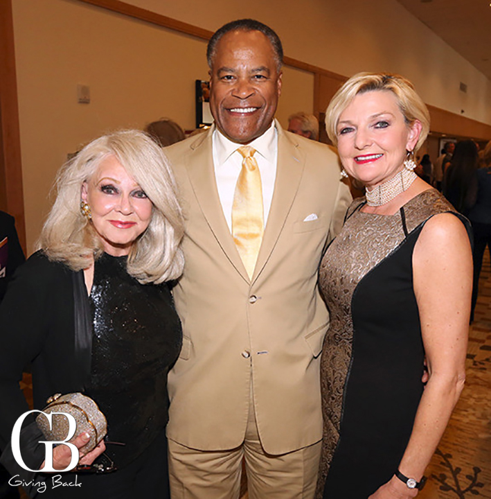 Phyllis Parrish with Jessie Knight and Joye Blount