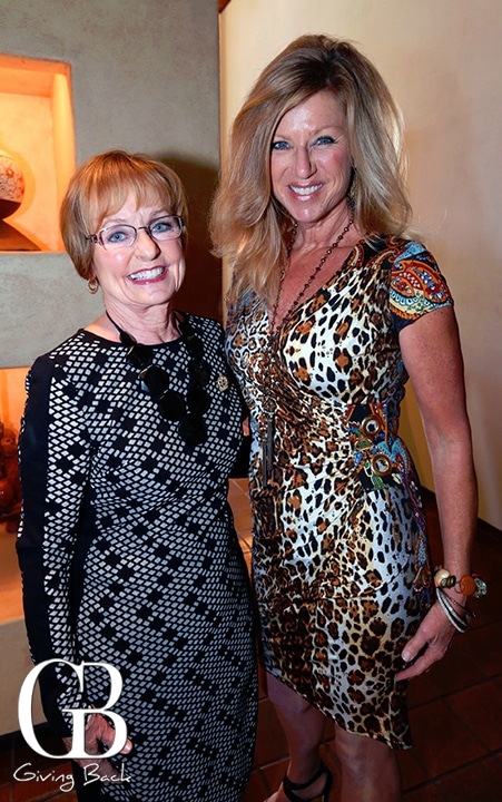 Phyllis Snyder and Kristi Pieper