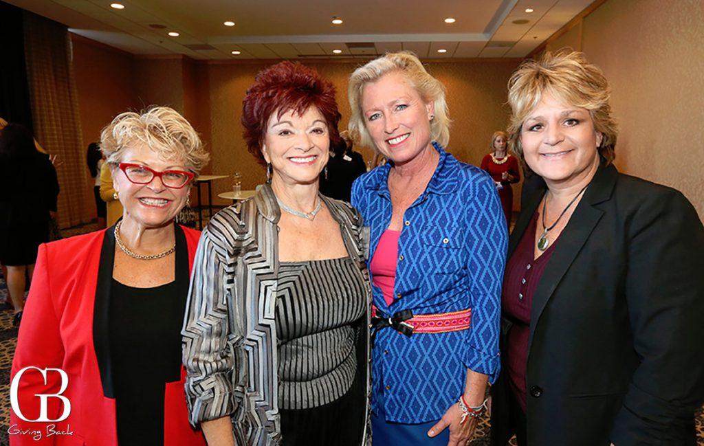 Pierrette Van Cleve  Susan Atkins  Crystal Weathers and Diana Navarre