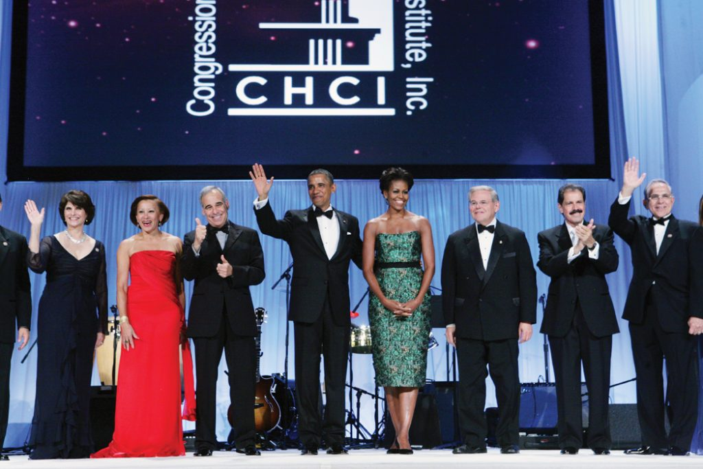 President and First Lady at CHCI th Annual Awards Gala.JPG