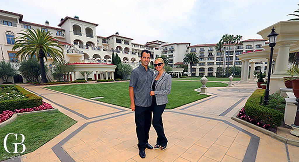 Publishers Esteban and Danitza at the St. Regis Monarch Beach