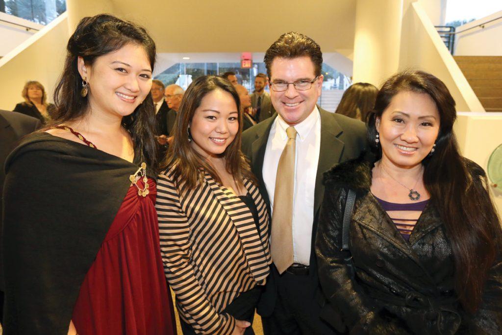 Queena Deschene, Megia Chou, Eric Michaelson and Cathlyn Choi.JPG