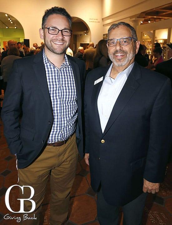 Rabbi David Singer and Michael Sonduck