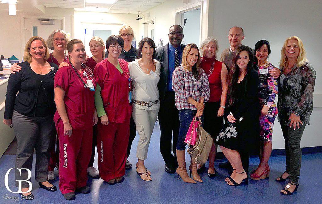 Rady Gala Unit visits ER