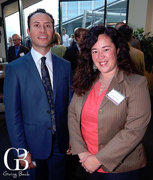 Rafael Castellanos and Lorena Slomanson