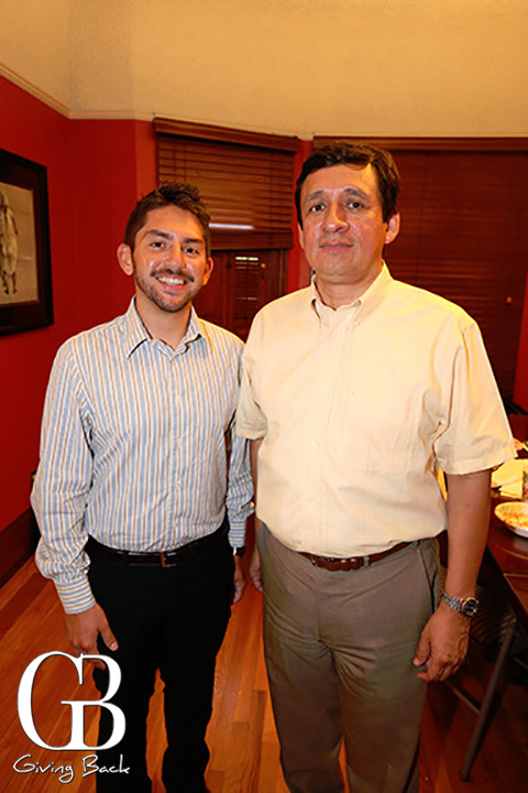 Rafael Hurtado and Francisco Sanches
