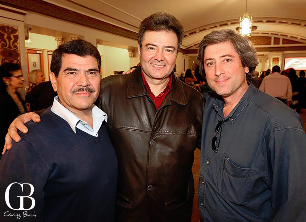 Rafael Palomar  Jose Luis Duval and Jeff Nevin