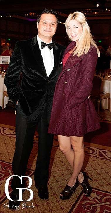 Ramin Pourteymour and Tara Tarrant