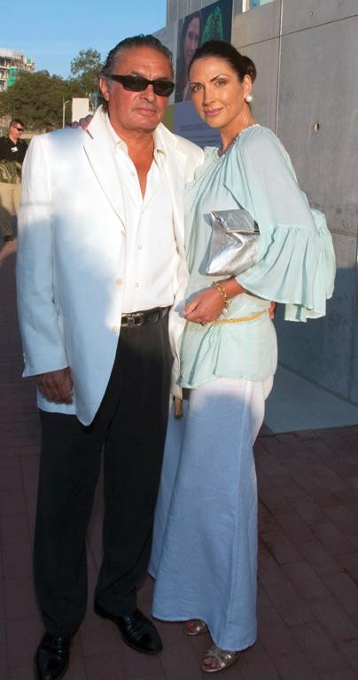 Ramiro and Lisa Solis