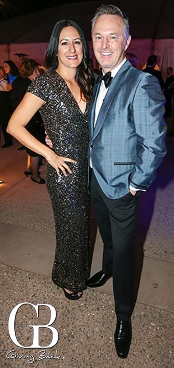 Raquel Parras and Brian Ahern