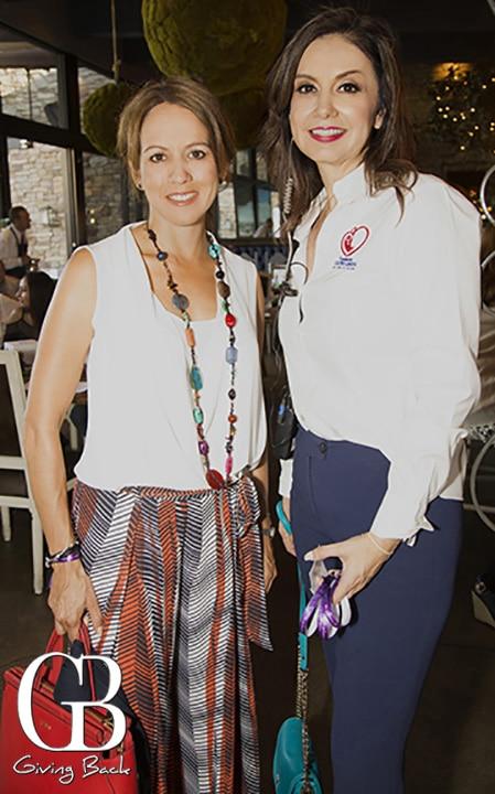 Raquel Rios y Julia Encinas