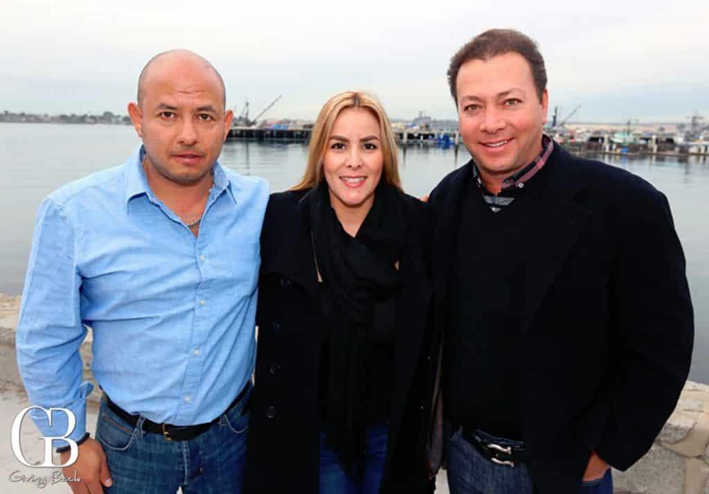 Raul Rosado  Dulce Vasquez y Gerardo Babatz