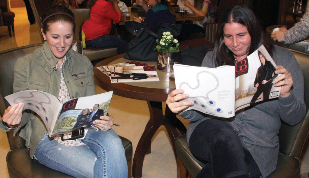 Reading Giving Back Magazine.JPG