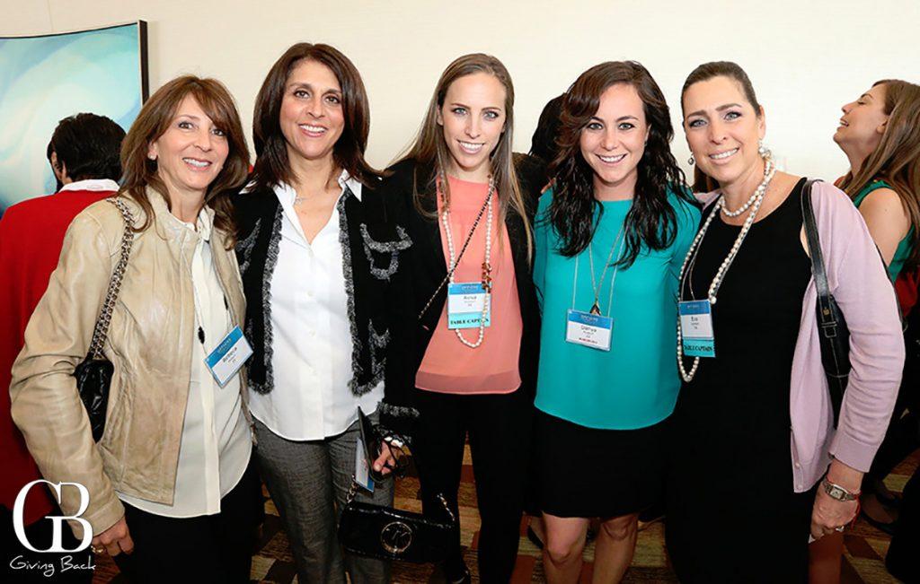 Rebeca Besquin  Patty Beer  Aviva Goldstein  Danya Burakoff and Eva Goldstein