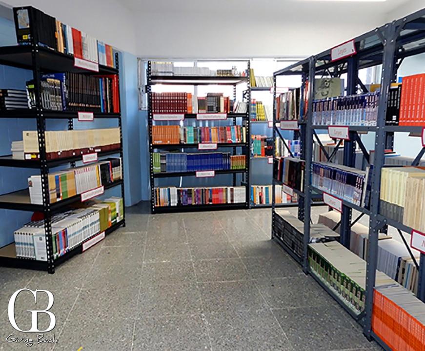 Rebeca Lan Prison Library  MAKE SMALL