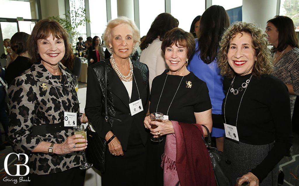 Rebecca Newman  Sharon Stein  Elaine Galinson and Carole Turk