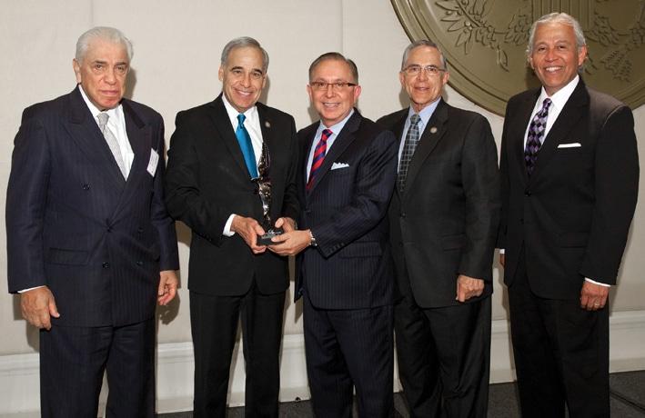 Receiving the Eagle Leadership Award.JPG