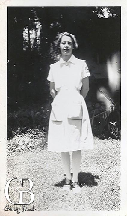 Red Cross Nurse Aid Dorothy Herney