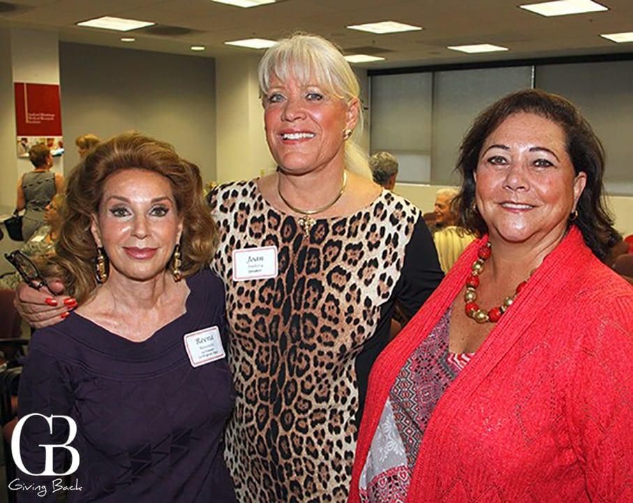 Reena Horowitz  Joan Embery and Marla Black