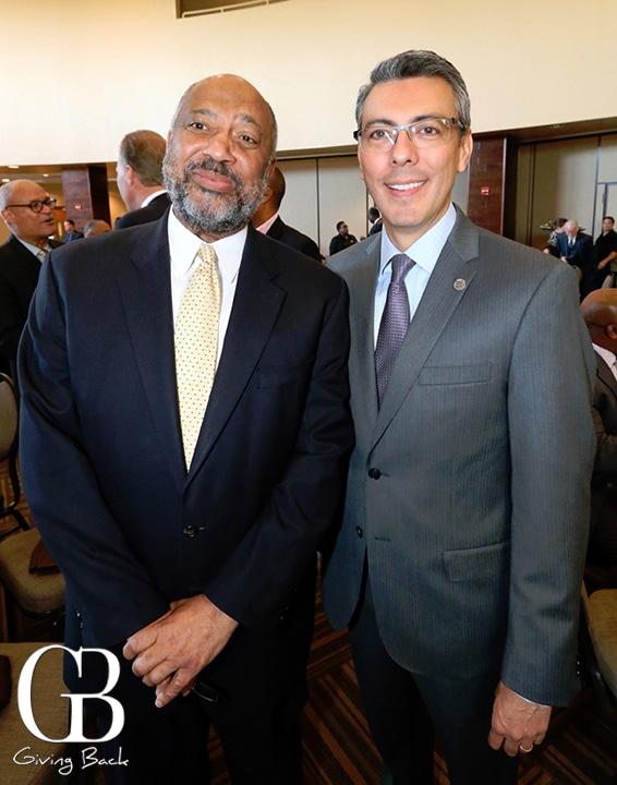 Reginald Jones and Ignacio de la Torre