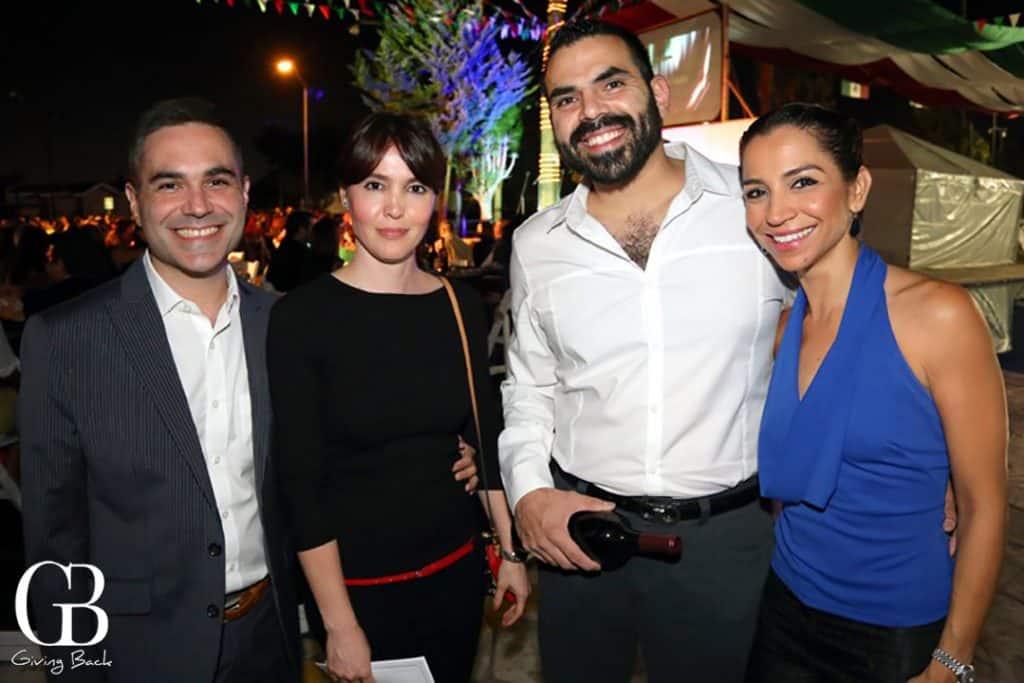 Ricardo Araiza  Ariana Lorenzo  Jorge Hoyos y Karla Escobar