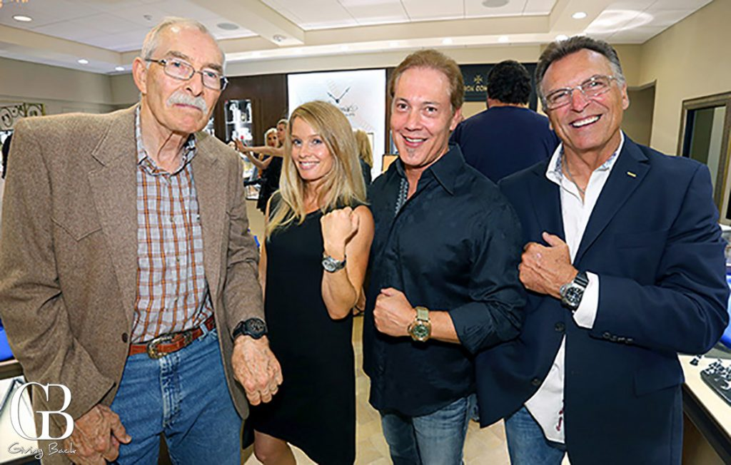 Rich Jonson  Liza Woelk  Tom Byars and Rick Andrews