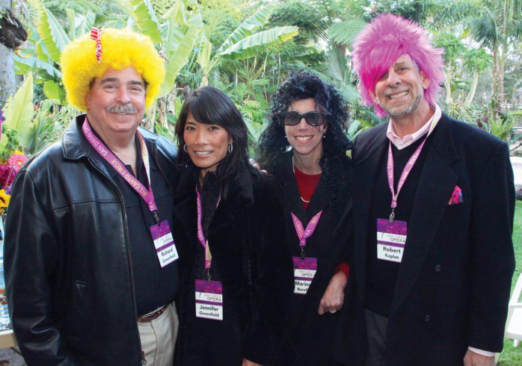 Richard and Jennifer Greenfield with Marina Baroff and Robert Kaplan.JPG
