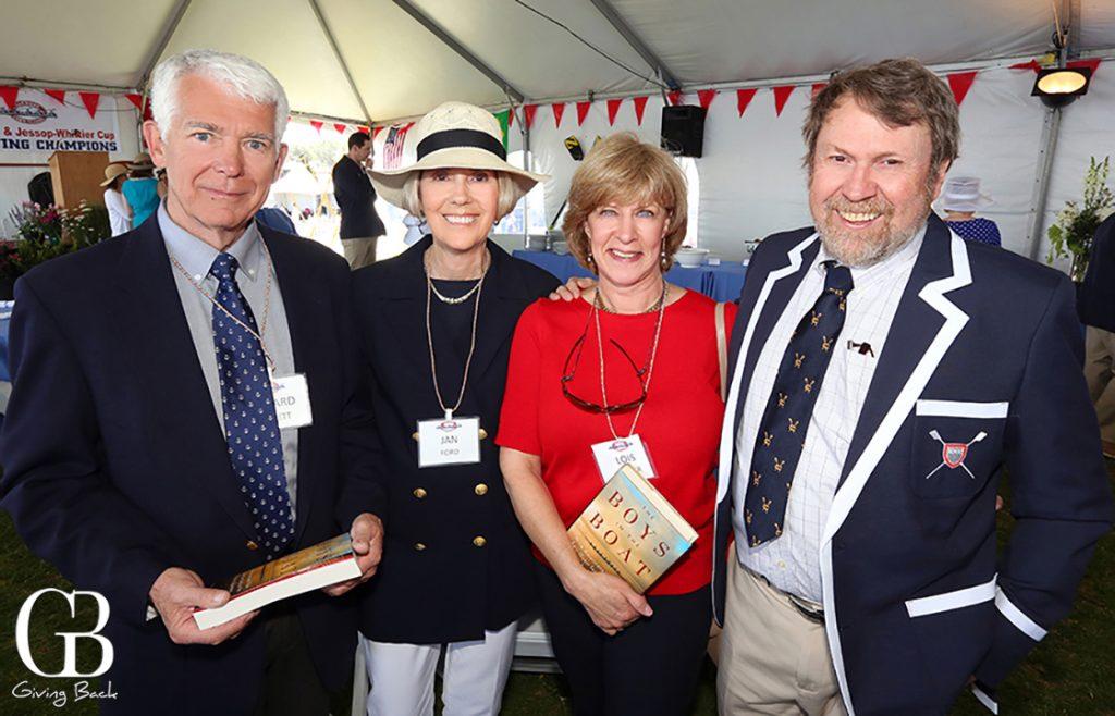 Richard Harnett  Jan Ford  Lois Hibser and Daniel James Brown