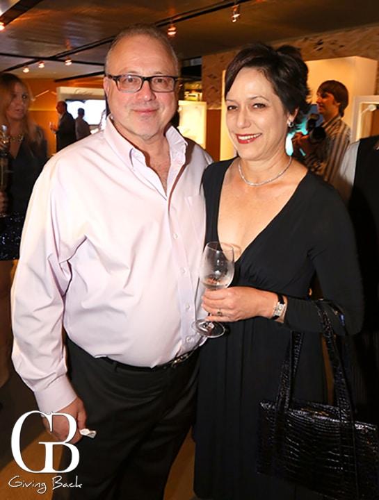 Richard Pfefferman and Stacey Fulhorst