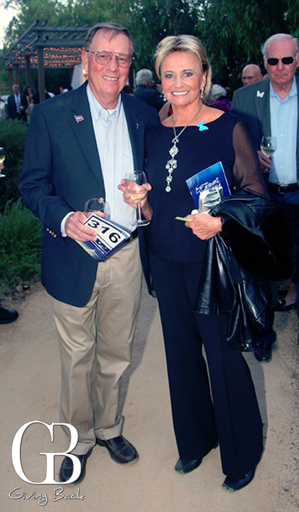 Richard Wright and Carol Fasching