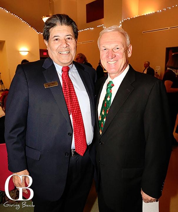 Richard Ybarra and Supervisor Ron Roberts