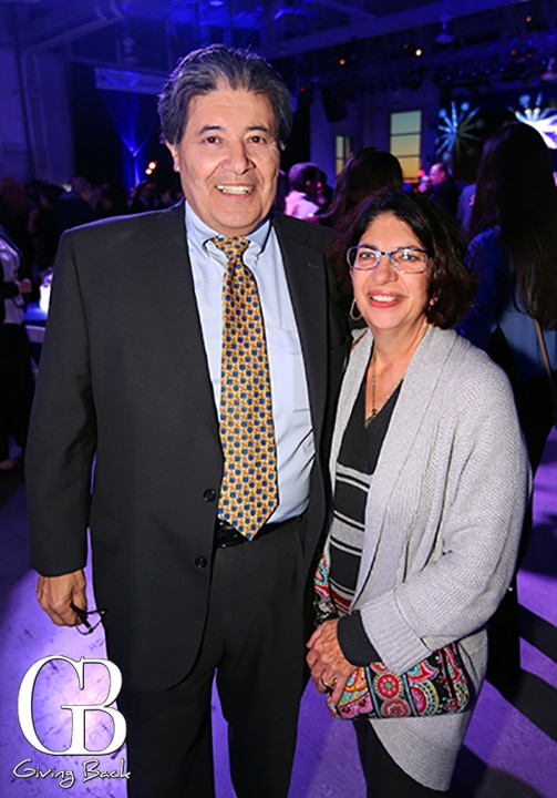 Richard Ybarra and Victoria Cohen