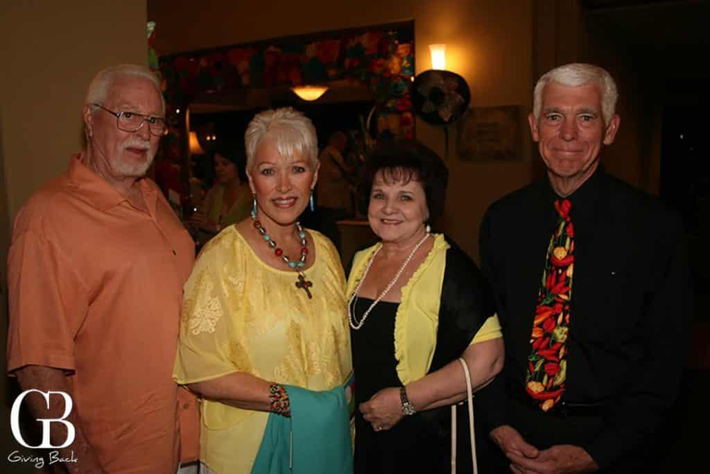 Richard and Joan Wyllie  Barbara Altbaum and Richard Harnett