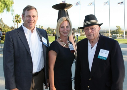 Rick and Carmen Richardson with Norbert Stein.JPG