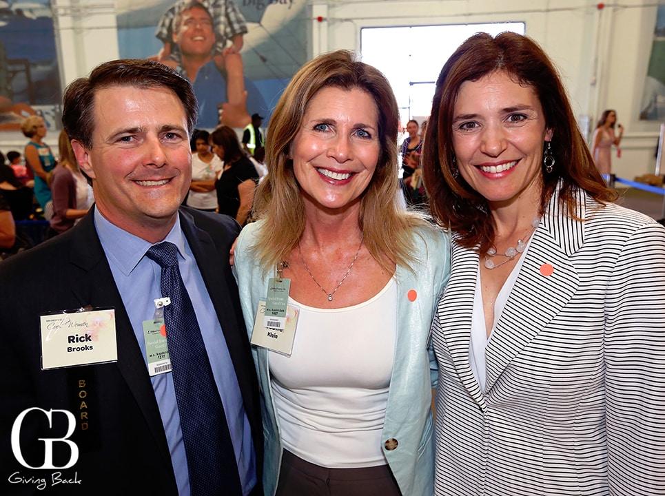 Rick Brooks  Leslie Klein and Adrienne Vargas