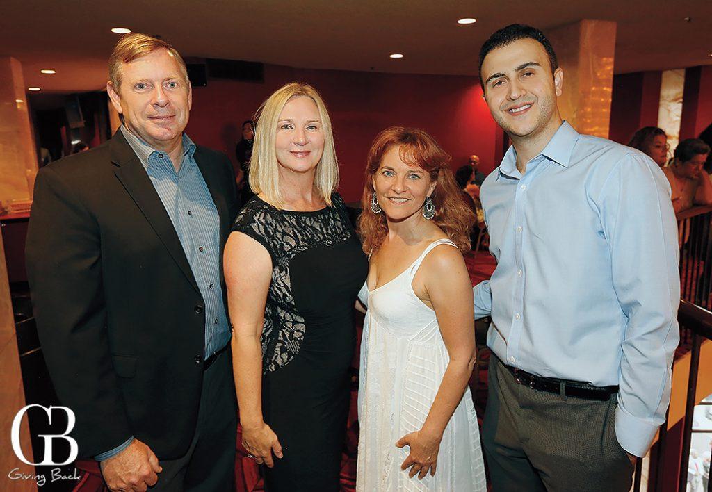 Rick and Carmen Richardson  Lisa Moctezuma and Stephen Avlahad
