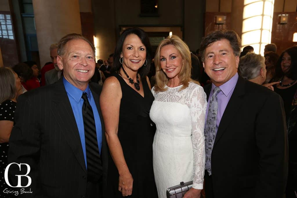 Rick and Julie Watkins with Lisse Markham and James Rowten
