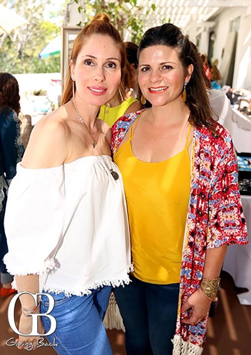 Rina Cota y Ana Isabel Hermosillo