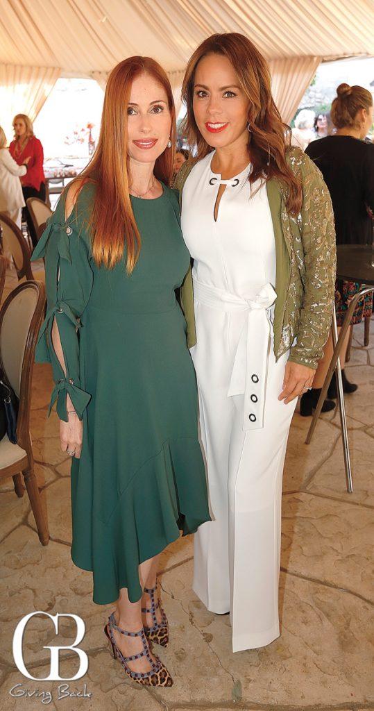 Rina Martinez and Sandra Melo