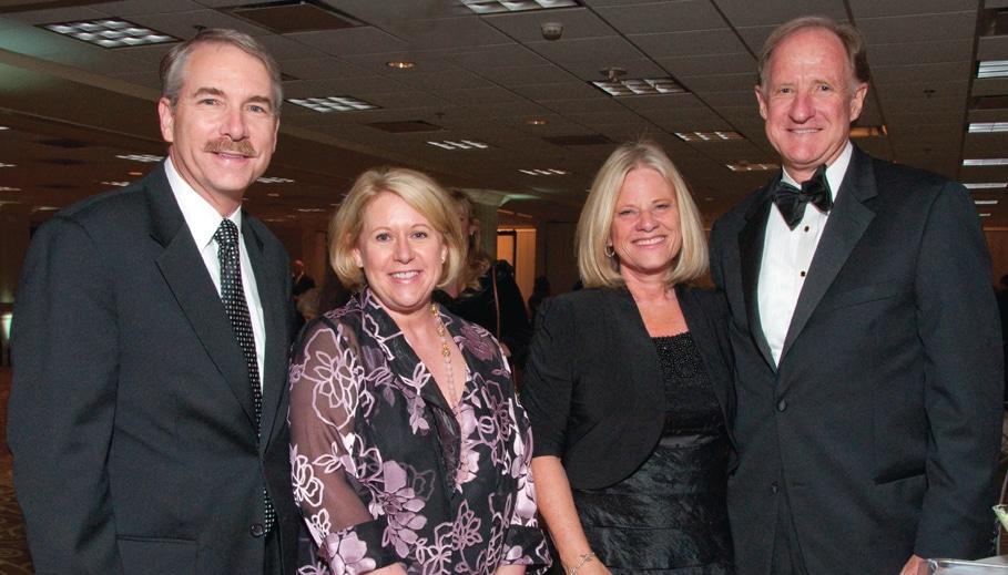 Rob and Carol Sorensen with Suzy and Steve Swinton