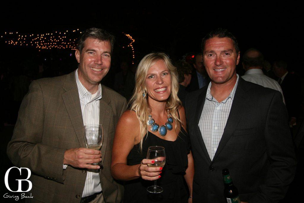 Rob Sauvajot with Jennifer and Mark Pillsbury