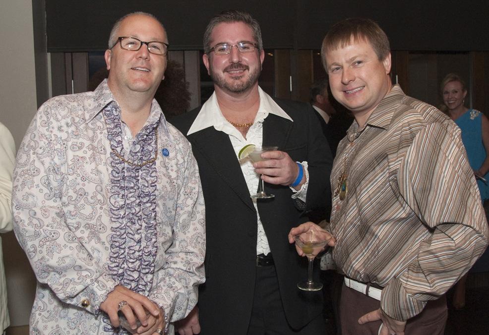 Robert Gleason, Paul Pietranico and Kurt Livermore