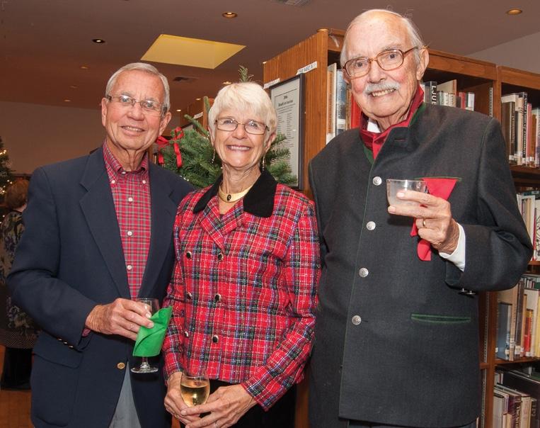 Robert McCue, Dori Robbins and Lewis Branscomb