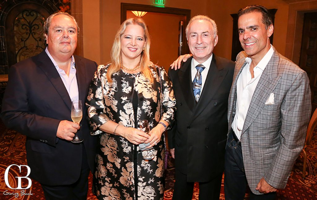 Robert and Tatiana Dotson  Arthur Wolk with Vahid Moradi